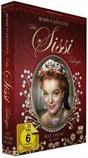 SISSI TRILOGY Romy Schneider, Karlheinz Böhm NEW SEALED 3 DVD BOX SET ALL REGION
