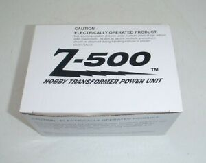 MTH Z-500 Hobby Transformer Power Supply Rail King - Never Used