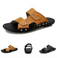 Mens Sports Walking Cut out Flats Non-slip Summer Slingbacks Beach Sandals Shoes