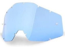Rnr Lente para 100% Motocross Gafas Azul Arrancar Racecraft Accuri Estratos
