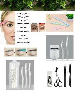 3 Pack Eyebrow Brow Shaper Razor Blade Facial Hair Trimmer Face Lip Hair Remover