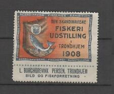 Cinderellas #100 - Norway fish expo trondhjem 1908
