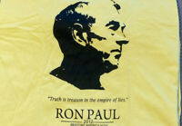 Ron Paul T-shirt 2012 Truth Is Treason In The Empire Of Lies Yellow