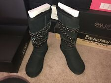 NEW 395$ Australia Luxe Co. Tall DEVIL Sheepskin Shearling Fur Studded Boots 5