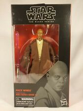 Hasbro Star Wars Black Series 6 Inch #82 Mace Windu NIB Action Figure