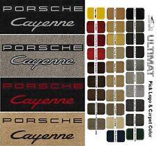 Lloyd Mats Porsche Cayenne Double Logo Front Floor Mats (2003 & Up)