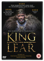 King Lear DVD (2018) Don Warrington, Buffong (DIR) cert 12 ***NEW*** Great Value