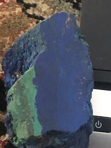 AZURITE & MALACHITE  lapidary rough 2 pounds great color