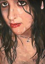 Axel Rodríguez(peinture à l'huile,oil painting,cuadro,dipinto,pintura)cert)30x40