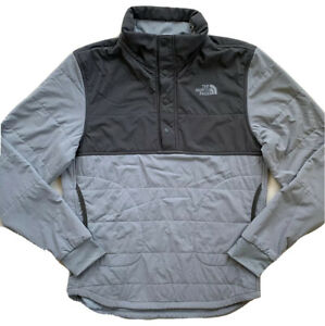 THE NORTH FACE Girls Mountain Sweatshirt 1/4 Snap Pullover Jacket NWT $99 XL 18