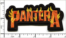 20 Pcs Embroidered Iron on patches Pantera Rock and Roll Music Band AP056pP