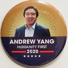 2020 Andrew Yang For President Campaign Button
