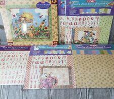 Debbie Hron Scrapbook Lot RARE: Scrapbook, Paper, Stickers, Kits NEW