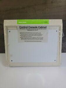 Radio Shack - Control Console Enclosure - Electronics Housing Panel Cabinet