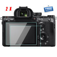 2X Sony a7RIII / a7RII A7R3 / A7R2 LCD Screen Protector 9H Tempered Glass Film