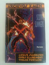 ARCHIVOS X-MEN SCOTT SUMMERS Nº 4 FORUM
