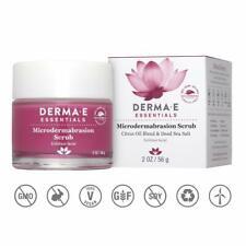 DERMA E Microdermabrasion Dead Sea Salt Scrub 2 oz  Facial Scrub & Exfoliant