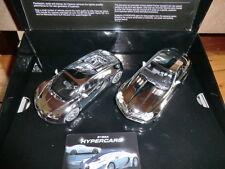 Scalextric C3169A Hypercars -- Chrome Mercedes SLR + Bugatti Veyron -- NEU + OVP