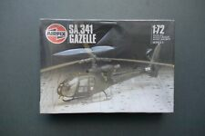 AirFix 1/72 Scale S.A.341 Gazelle Helicopter Vintage Model Aircraft Sealed Kit
