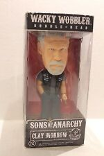 Sons of Anarchy Clay Morrow Funko Wacky Wobbler Bobble Head Collectible Toy NEW