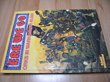 Rar! UCE We Go Sourcebook Space orcos-Hardcover 1991