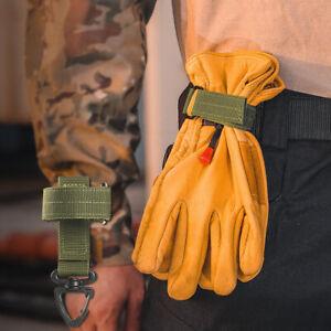 Multi-purpose Glove Hook Outdoor Tactical Gloves Climbing Rope Storage Bu.hu