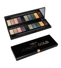 La Palette Gold Color Riche L'oréal Paupières Yeux 10 Couleurs