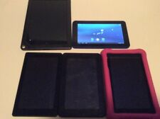 Lot of 5 Tablets 2 Amazon Fire 1 Nook 1 RCA 1 Non Brand