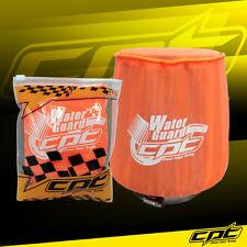 Water Guard Cold Air Intake PreFilter Cone Filter Cover Ram Pickup Medium Orange