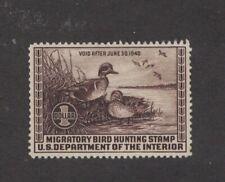 RW6 - Federal Duck Stamp. Single. MNH. OG.   #02 RW6