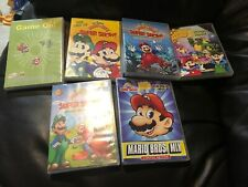 SUPER MARIO BROS SUPER SHOW DVD LOT