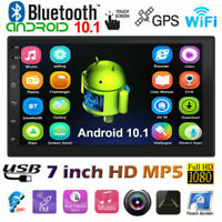 7 inch 2 DIN Car Stereo Android 10.1 MP5 Player WiFi GPS FM Radio USB Head Unit