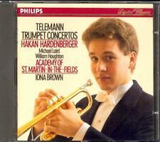 TELEMANN - 5 Trumpet Concertos - Hakan HARDENBERGER / Iona BROWN - Philips
