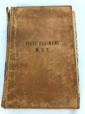 1881Us Army Regulation Part 1 Book