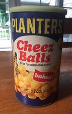 Vintage Original Can Of Planters Cheez Balls Cheese Balls