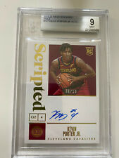 2019-2020 19-20 Panini Encased Kevin Porter Jr Rookie Scripted Auto /10 BGS 9
