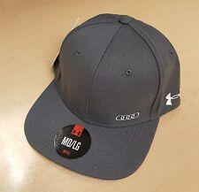 Audi Collection Under Armour Flat Bill Cap  Hat ACM-448-8GR-YM-/L