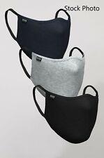 Brand New BOSS Hugo Boss Reusable Filtration Cotton Face Mask 3-Pack