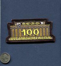CVN-72 USS ABRAHAM LINCOLN 100 CENTURION Carrier Landing US NAVY Squadron Patch