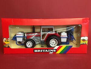 1986- Britains 1/32 Massey Ferguson 2680 Tractor with Evrard Sprayer No9615 NMIB