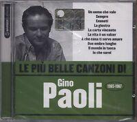 GINO PAOLI - Le piu' belle canzoni di... 1965 - 1967 - CD 2007 SIGILLATO SEALED