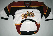 ECHL Dayton Bombers CCM Authentic Game Jersey size 48  Fight Strap