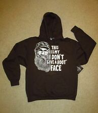 New Duck Dynasty Uncle Si Hoodie Mens L Hooded Sweatshirt Pullover Hard To Find