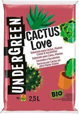 Terriccio per Cactus e altre Piante Grasse da Appartamento o Balcone, 2,5 L
