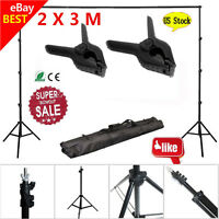 10Ft Adjustable Background Support Stand Photo Backdrop Crossbar Photography C2
