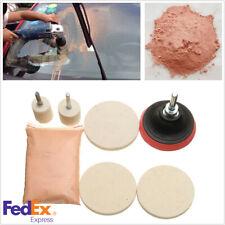 Car Window Glass Polishing Kit 8 Oz Cerium Oxide & 3' Polishing Pad Us Shiiping (Fits: Dodge Shadow)