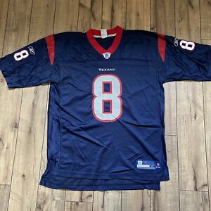 NFL Reebok on Field Houston Texans Matt Schaub #8 Jersey Size XL -Used