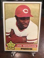 1976 Topps Joe Morgan Cincinnati Reds #420 Baseball Card