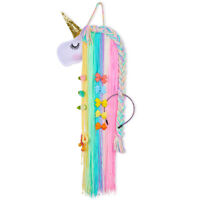 Rainbow Unicorn Styling Wall Hanging Colorful Home Decor Girls Christmas Present