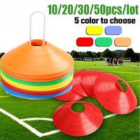 10/20/30/50x Fitness Übung SPORTS Training Discs Marker Kegel Fußball Rugby